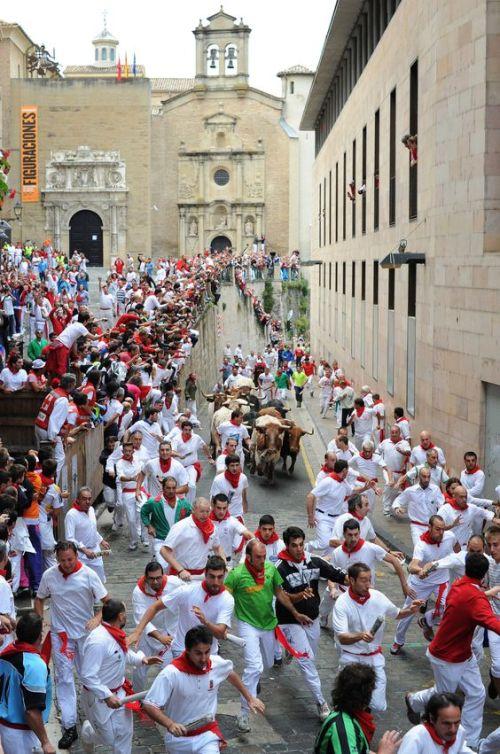 <> on July 10, 2012 in Pamplona, Spain.